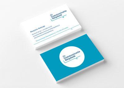 DeCommunicatieHelpdesk visitekaart