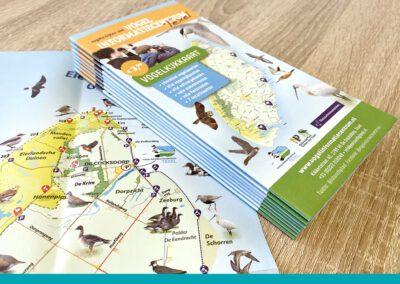 Vogelkijkkaart Texel